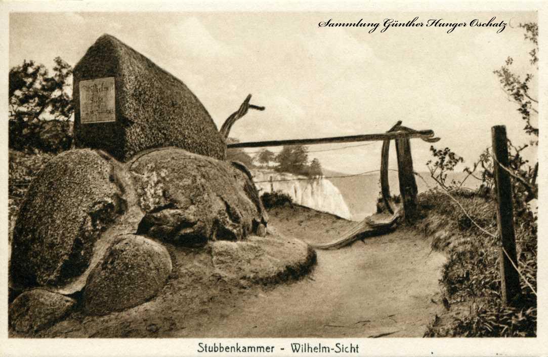 Stubbenkammer - Wilhelm-Sicht