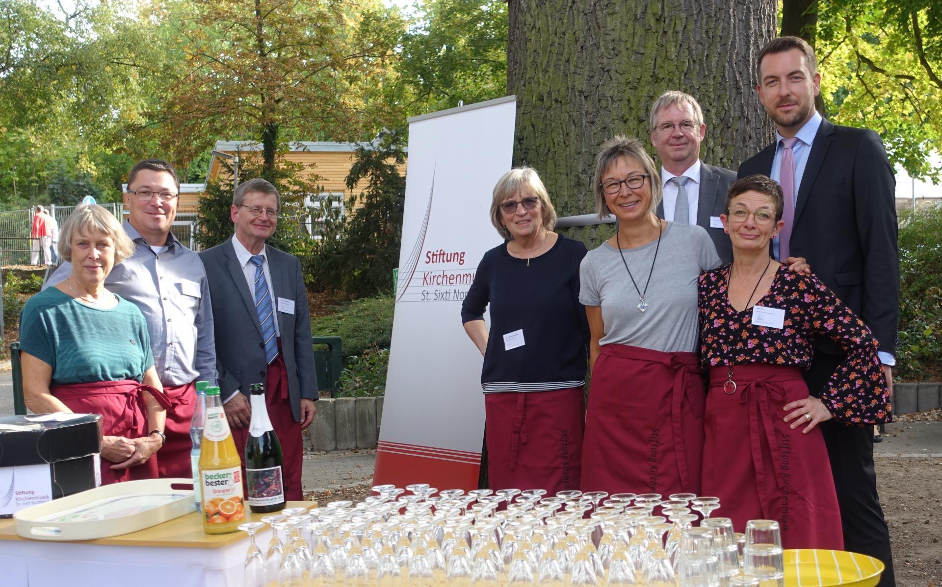 Mitglieder aus Stiftungsrat und Stiftungsvorstand