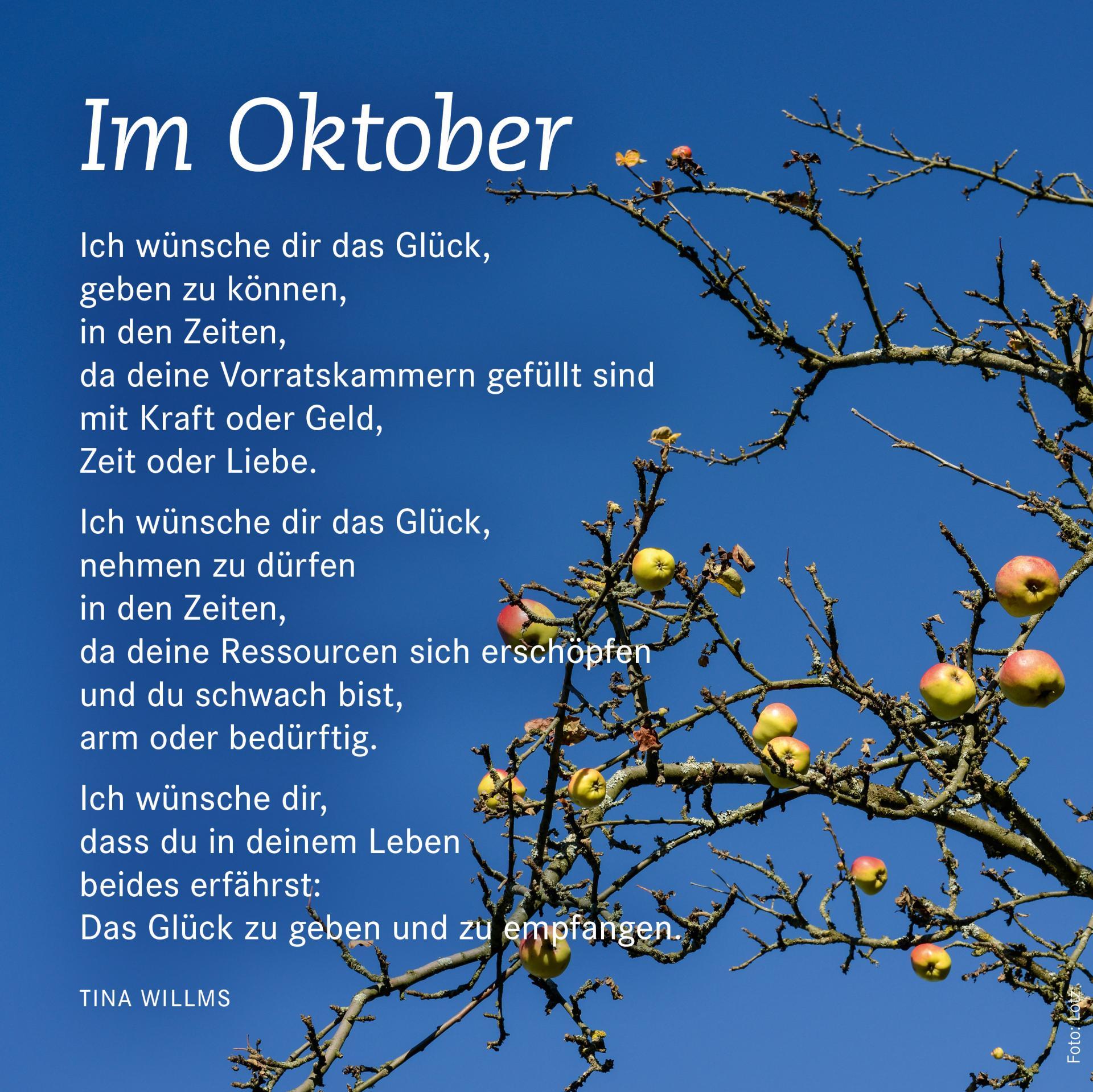 Im Oktober