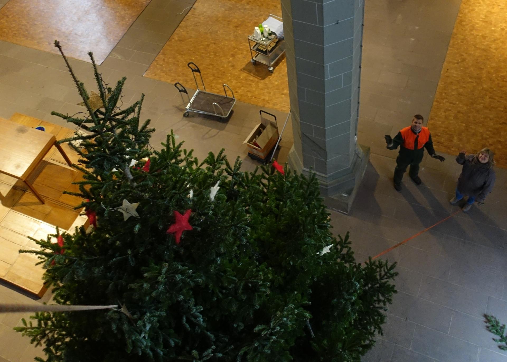 Weihnachtsbaumabbau am 10.01.2020