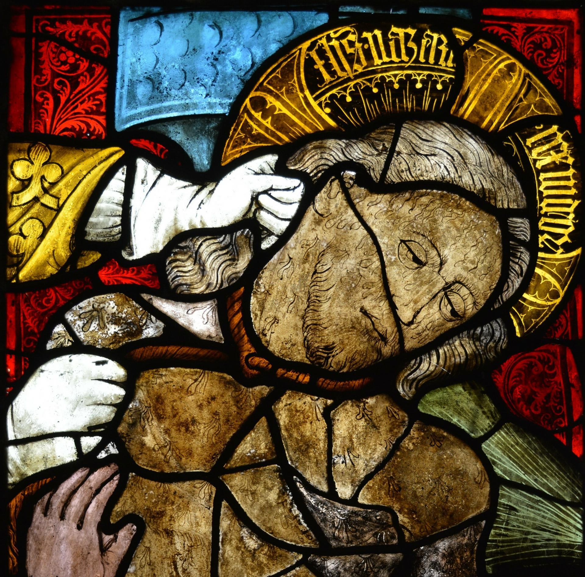 Geißelung Christi, Ausschnitt Christus