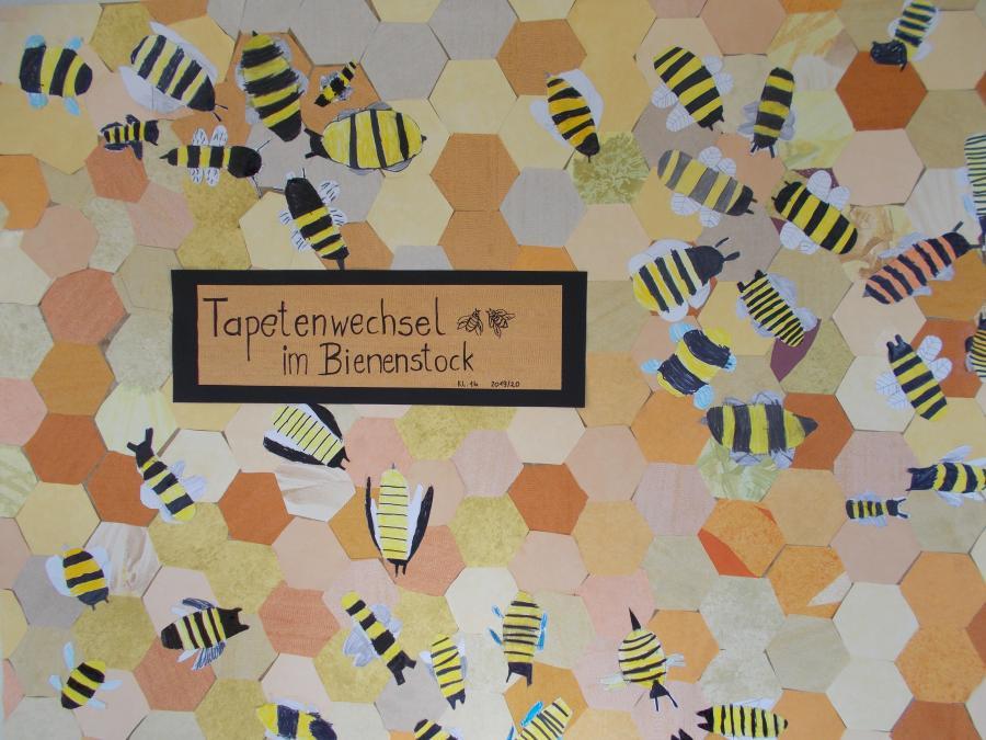 Tapetenwechsel im Bienenstock