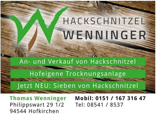 Hackschnitzel Wenninger