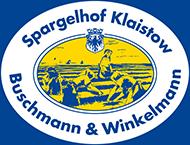 Spargelhof Klaistow Buschmann & Winkelmann
