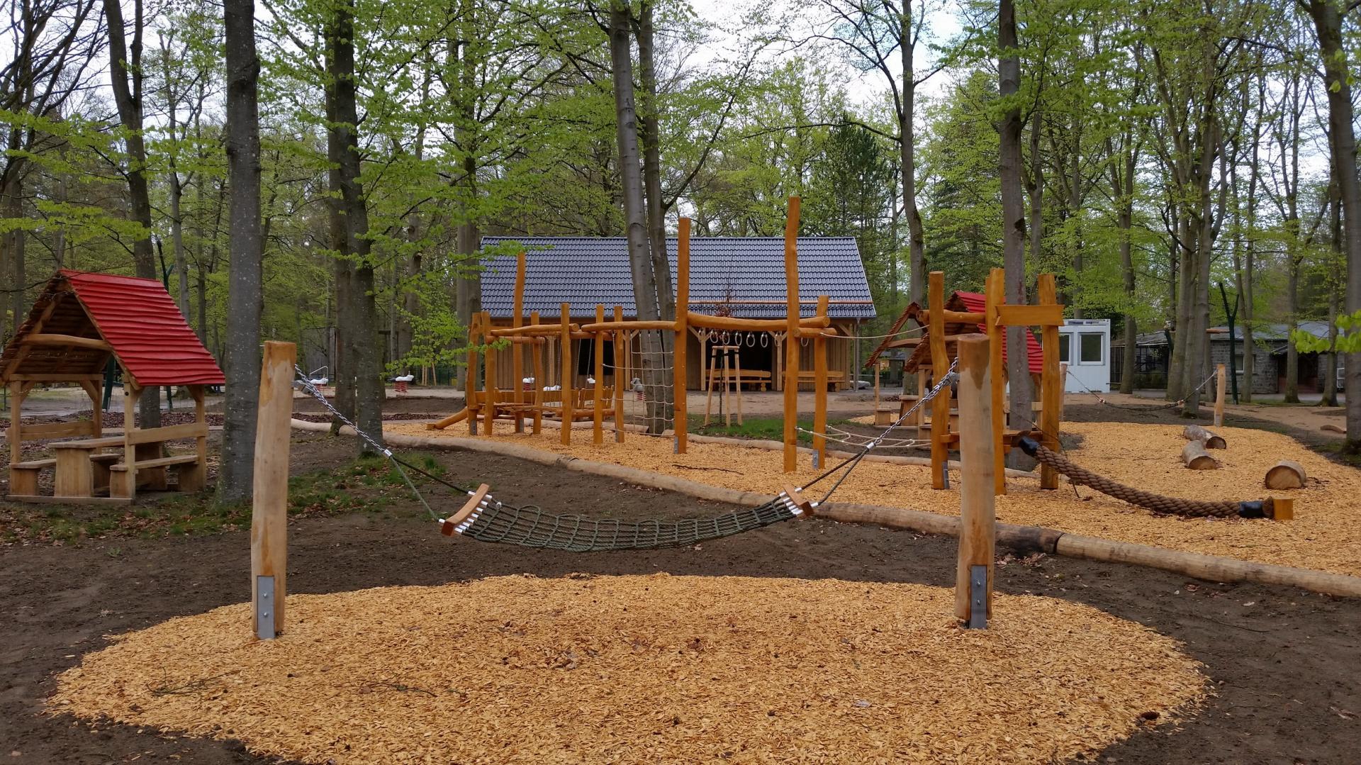 die neue Mitte des Tierparks