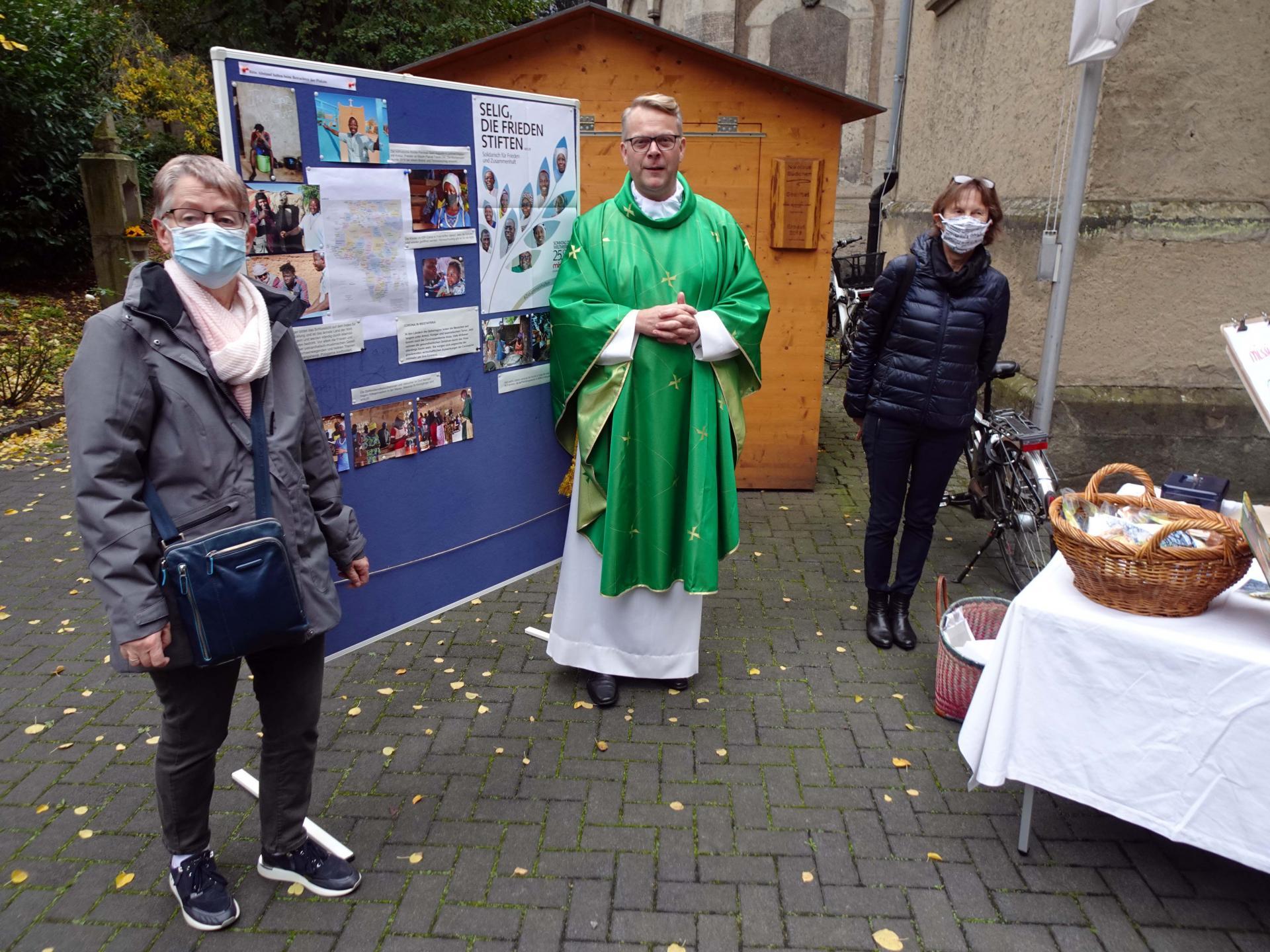 Aktion in katholischer Kirche