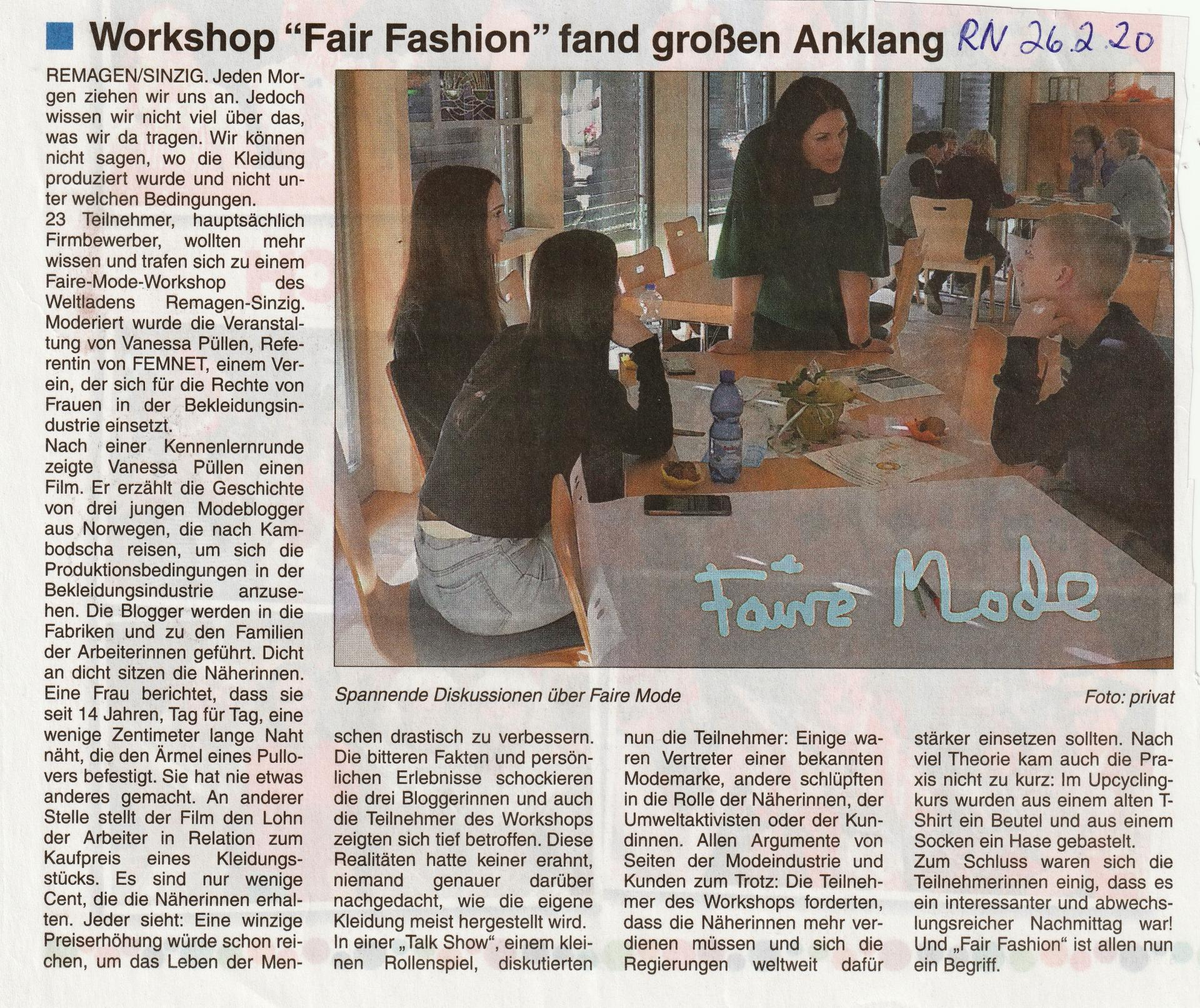 Workshop Fashion
