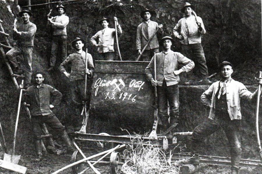 In der Grube Lardenbach vor 200 Jahren