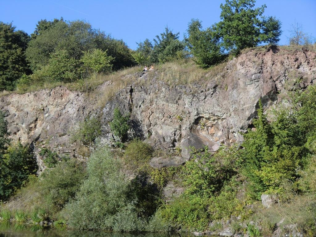 Steinbruch am Wildfrauhaus