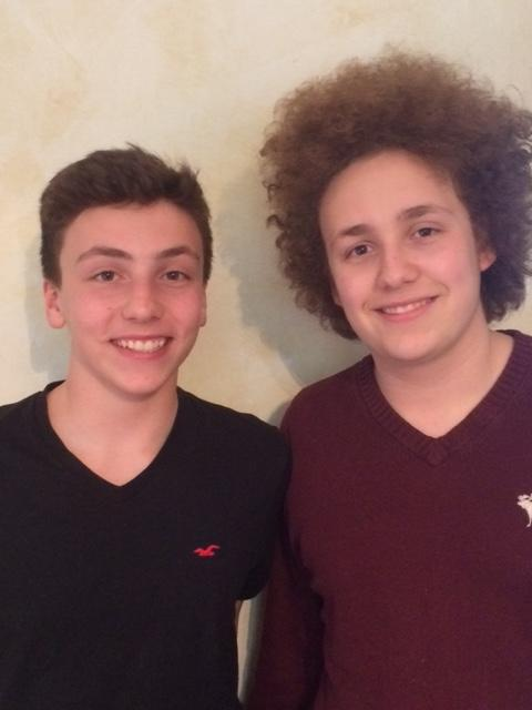 Elias und Nathan Bergé