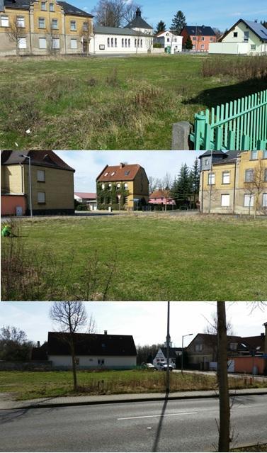 Ansichten vom Grundstück