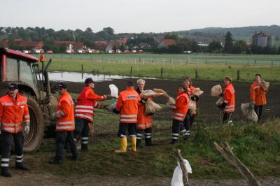 Einsatz der KFB Ost in Hildesheim