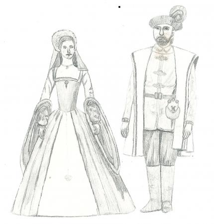 Anne Boleyn & Henry VIII.