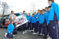 Die C-Junioren des FC Energie Cottbus