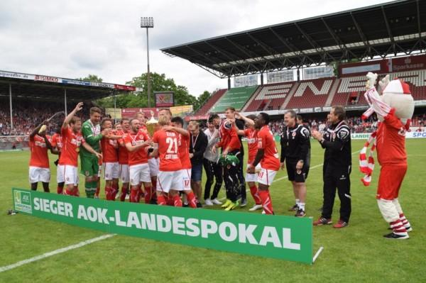 Finale AOK-Landespokal Brandenburg