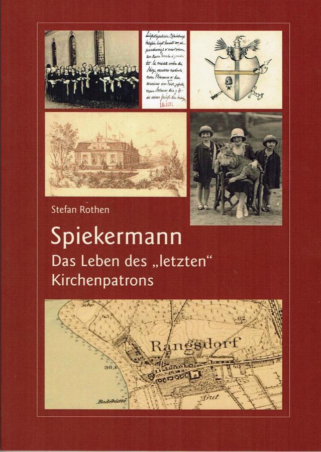 """Titelseite des Buch: Spiekermann - Das Leben des """"letzten"""" Kirchenpatrons"""""""