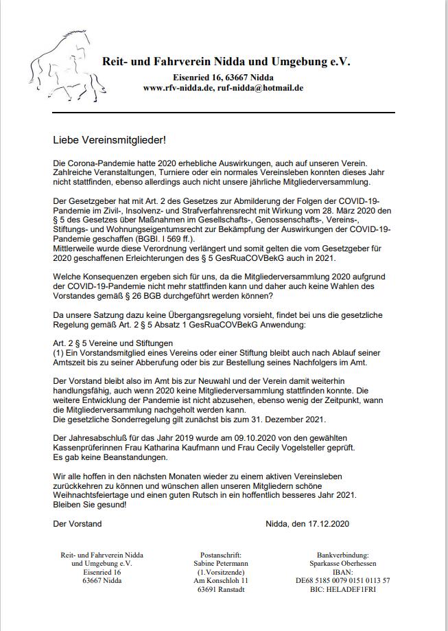 2020-12-17 Brief an Mitgl. bezgl. MV
