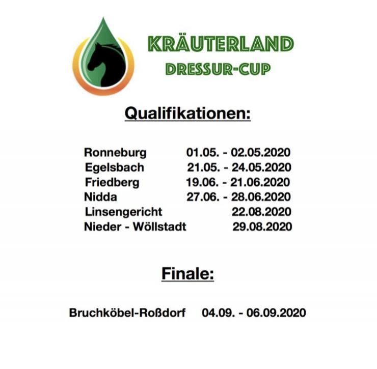 Kräuterland Dressur Cup