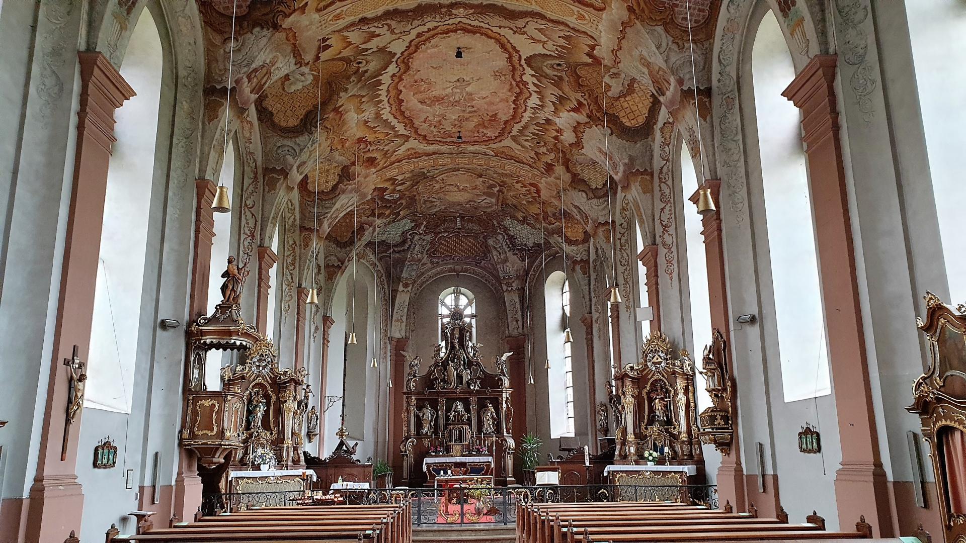 Klosterkirche Springiersbach Innenansicht ©SMüller