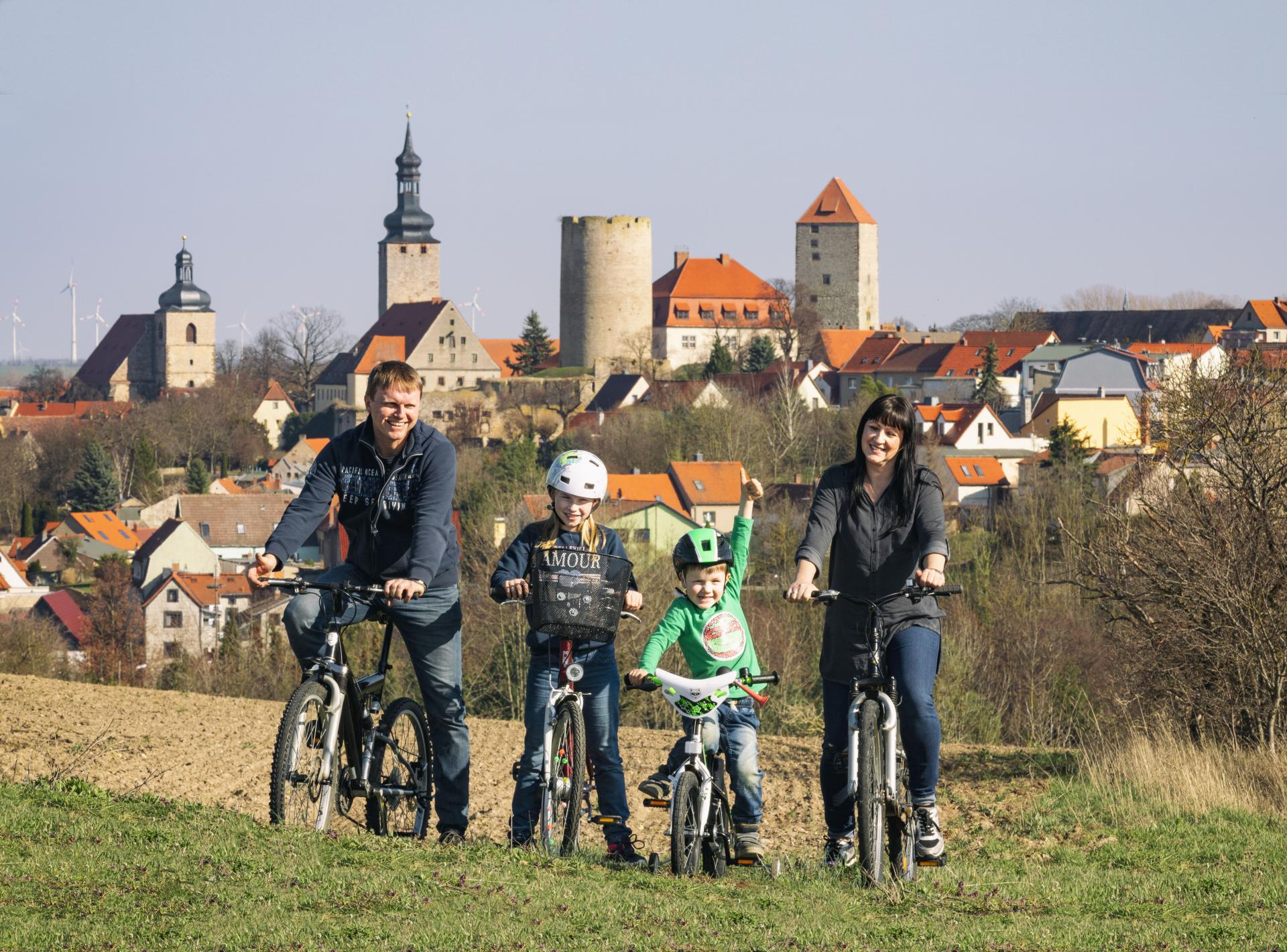 Radfahren im Querfurter Land