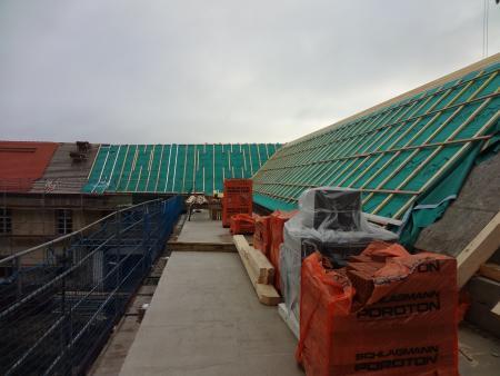 Neues Foyer - Dach