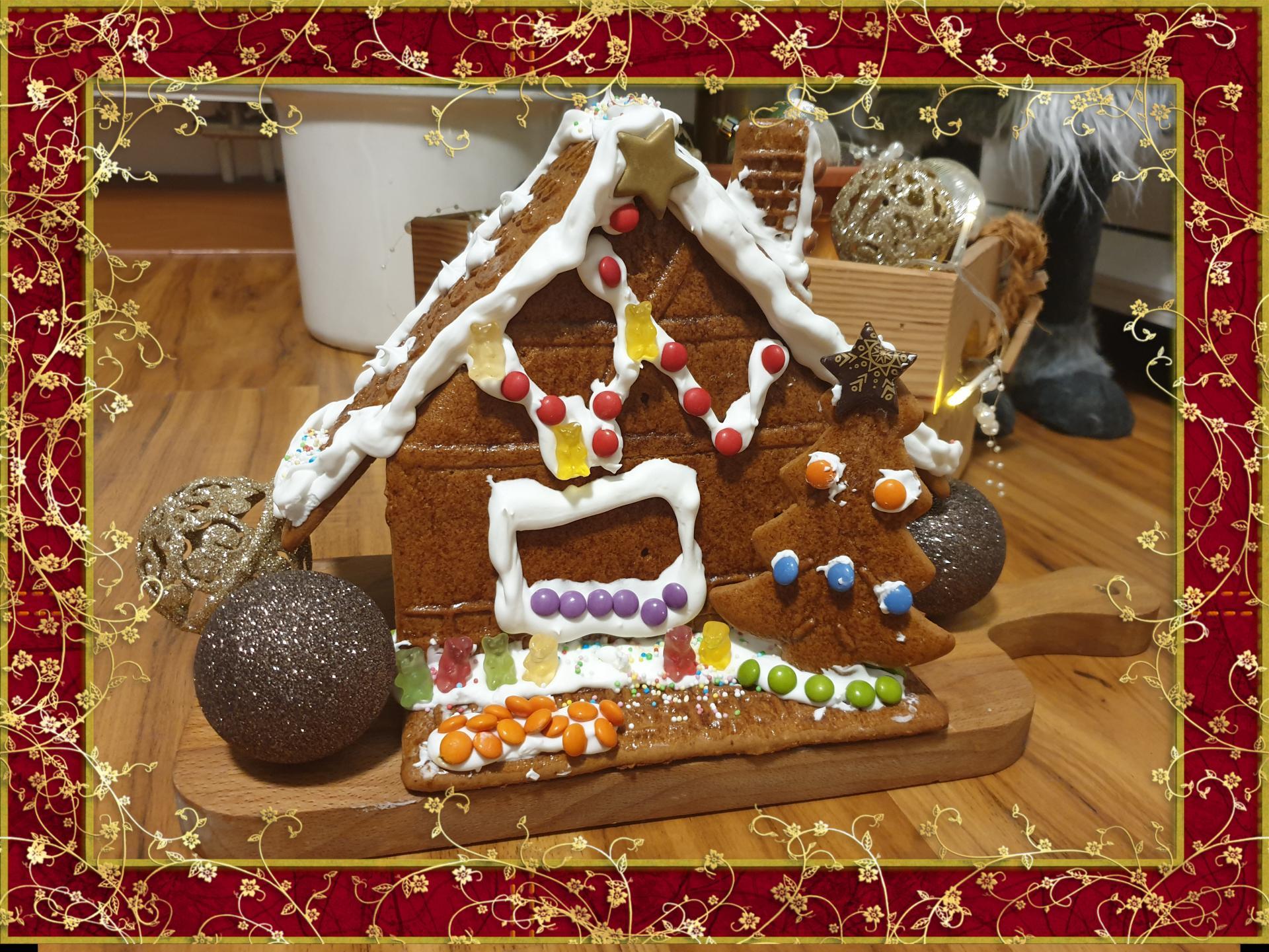 Lebkuchenhaus von Alessa und Elia
