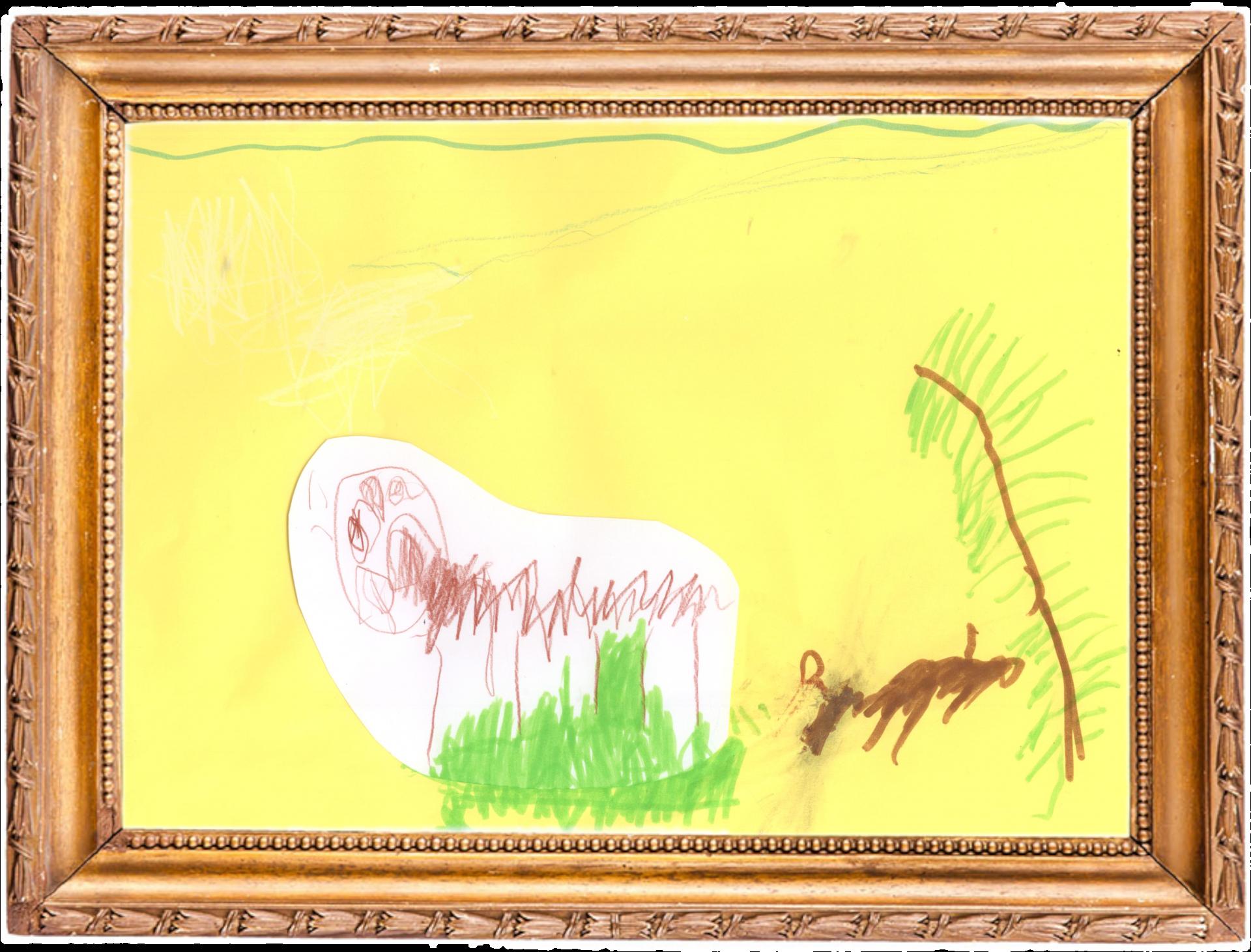 Grashüpfer auf der Wiese
