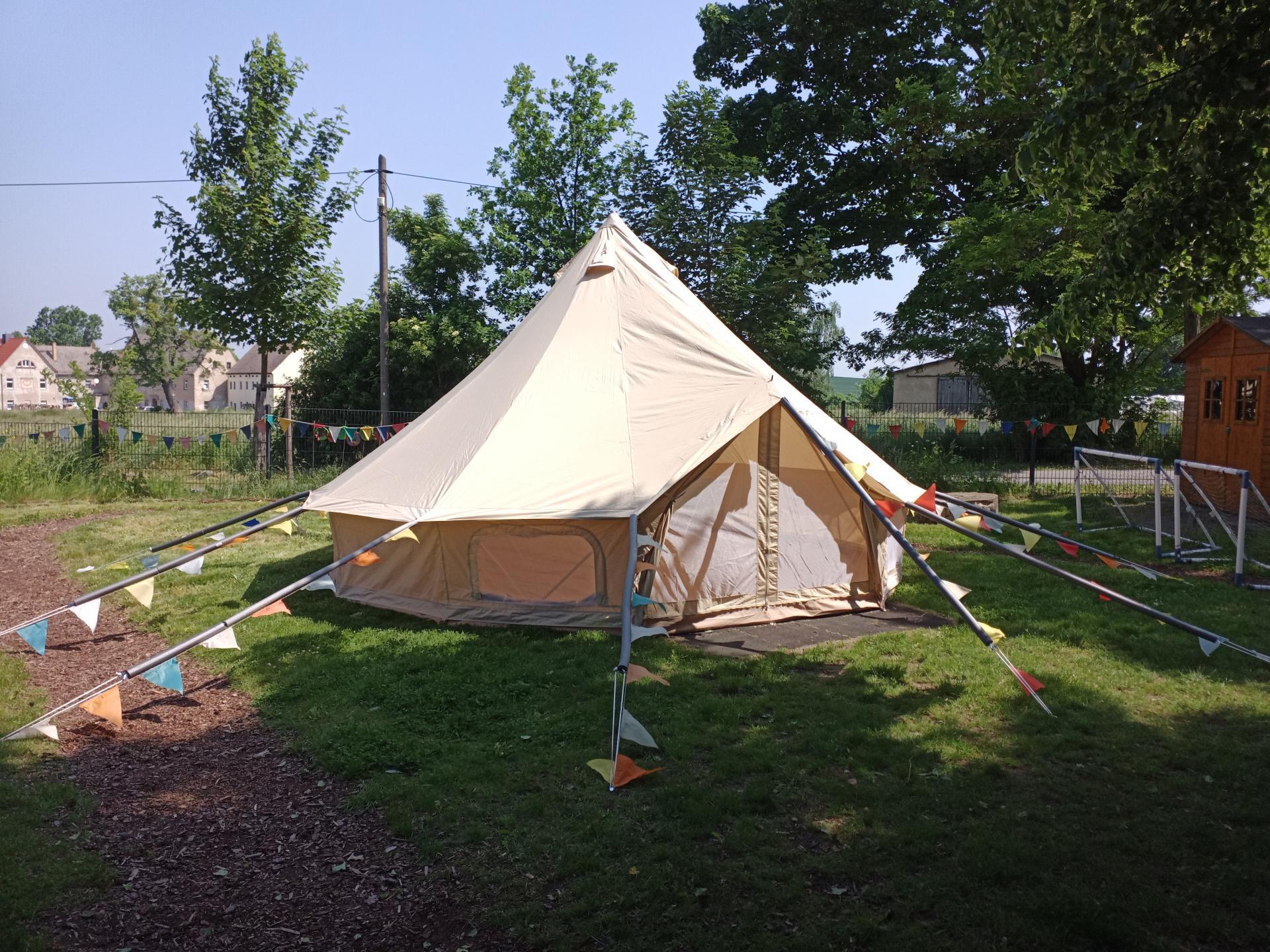 Jurte-Zelt 2