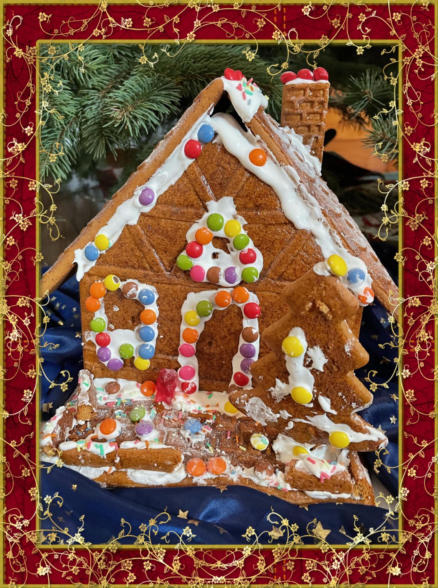 Lebkuchenhaus von Familie Steglich
