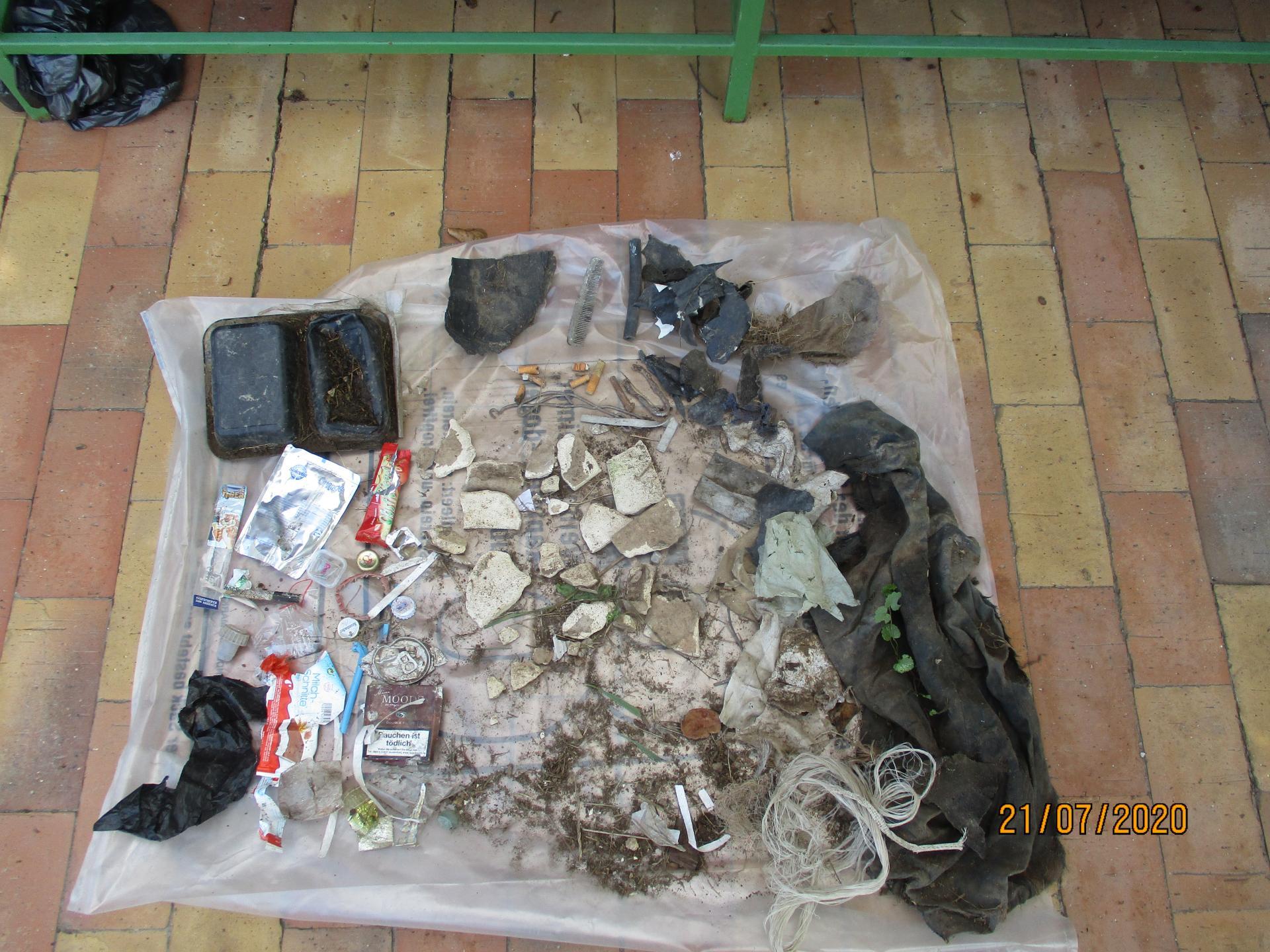 Müll in unserer Umwelt