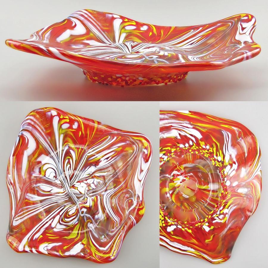 Schalen freifließend Rot-Gelbmischung