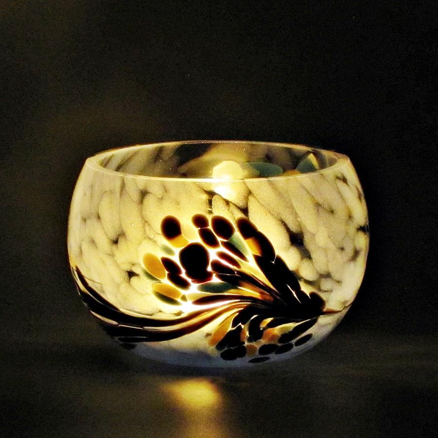 Teelicht Blau-Lumi Nachtmischung dark 2