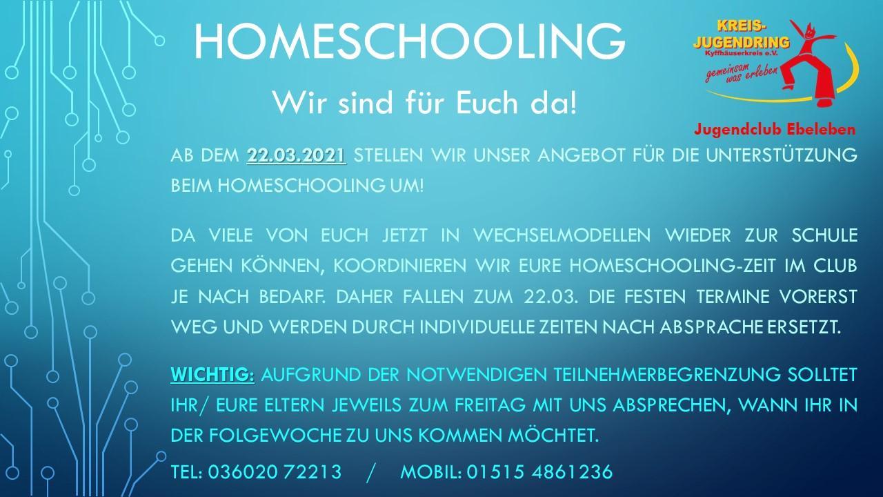 Homeschooling 03.21