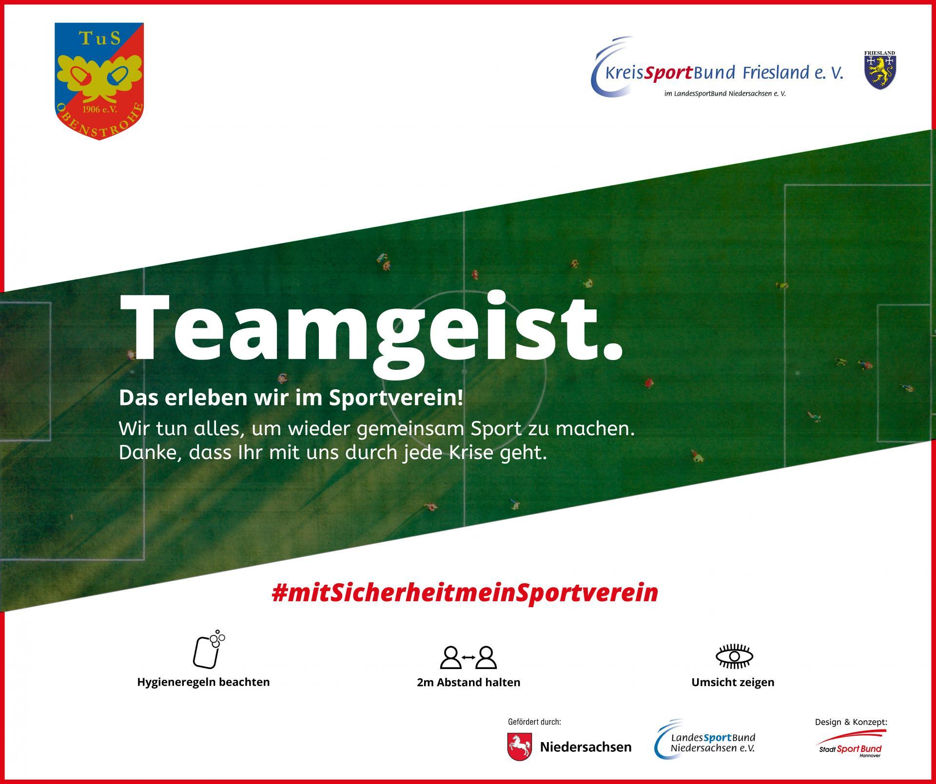 TuS Obenstrohe - #mitSicherheitmeinSportverein