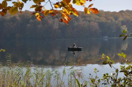Angler im Herbst, Foto: Gerigk