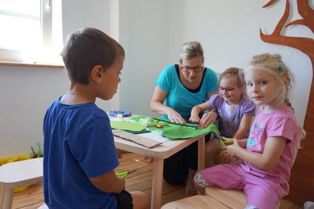 Basteln für Kinder im Backes