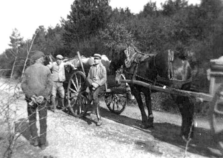 Auf dem Wege aus der Mühle (1936)