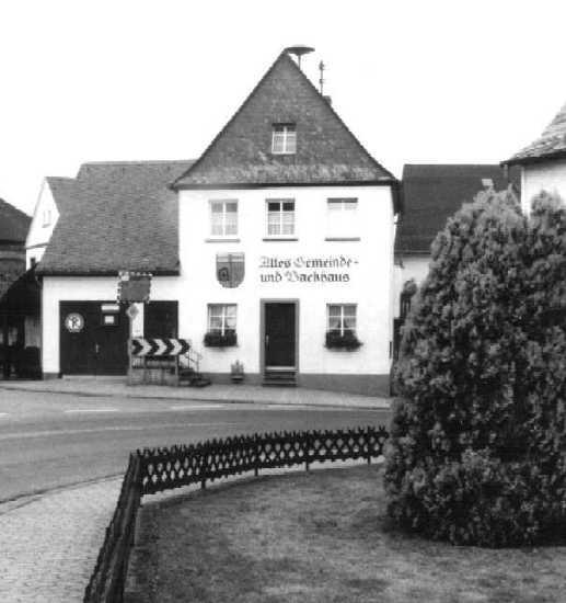 Das renovierte Backhaus