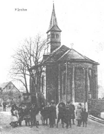 Die Zelser Kapelle (Postkartenausschnitt)
