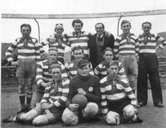 einstige Zelser Fußballmannschaft