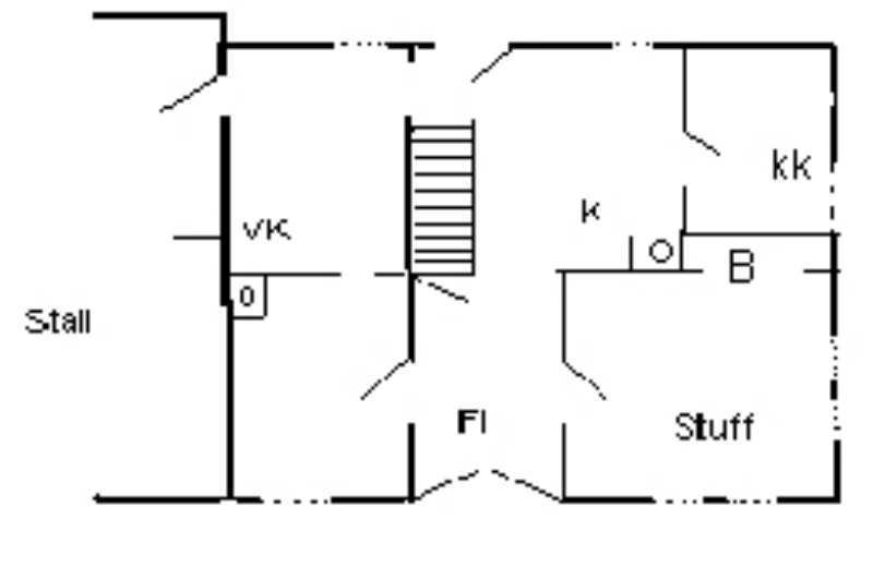 Grundriss von Haus Nr. 18