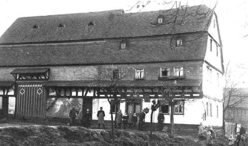 """Haus Nr. 18: """"Hiestasch"""" – Anfang der 20er Jahre"""