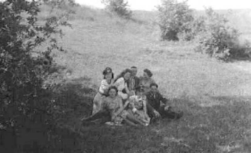 of Pondelswies (in den ersten Kriegsjahren)