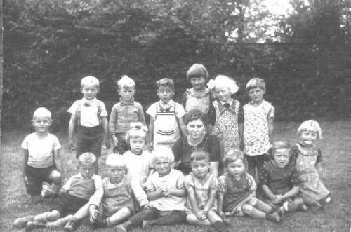 Kindergartenfoto von 1939