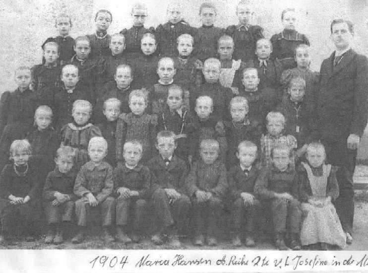 Schulfoto von 1904