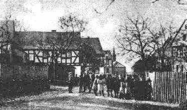 Oberdorfstrasse 1929 (Postkartenausschnitt)