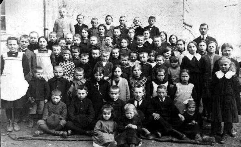 Klassenbild von 1925