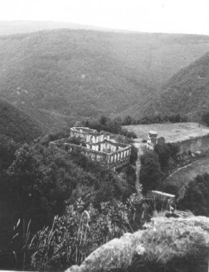 Wanderziel Burg Waldeck um 1940