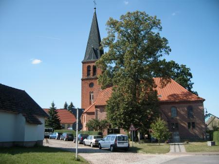 offene Kirche, Backstein- und Fachwerkbau