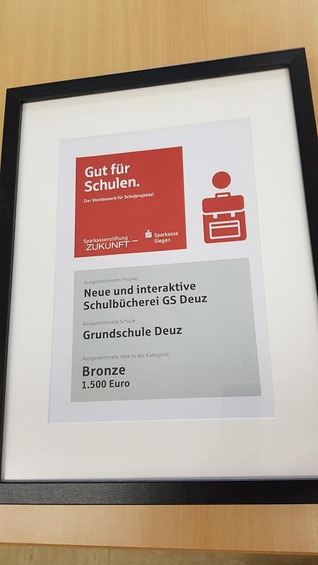 Auszeichnung Gut für Schulen 2020